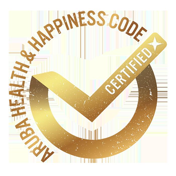 Aruba's Health and Happiness Logo
